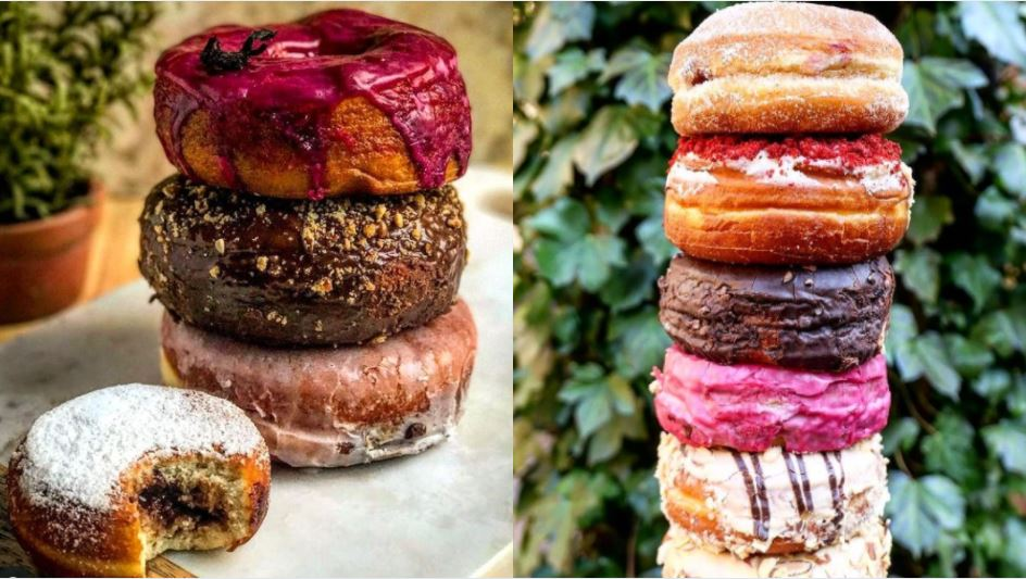 Some of the various donuts that will be on offer at Dough Doughnuts in Astoria (Photo: Dough Doughnuts Instagram)