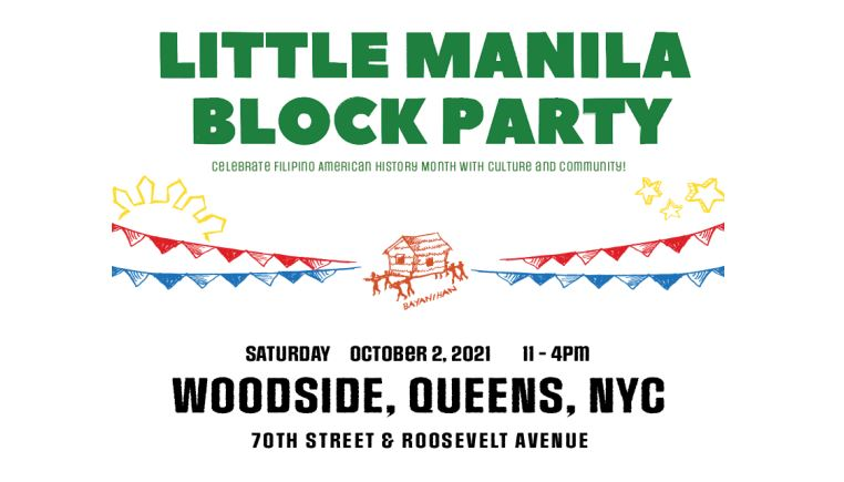 A block party celebrating the Filipino community's contributions to American history will take place in Woodside Saturday.