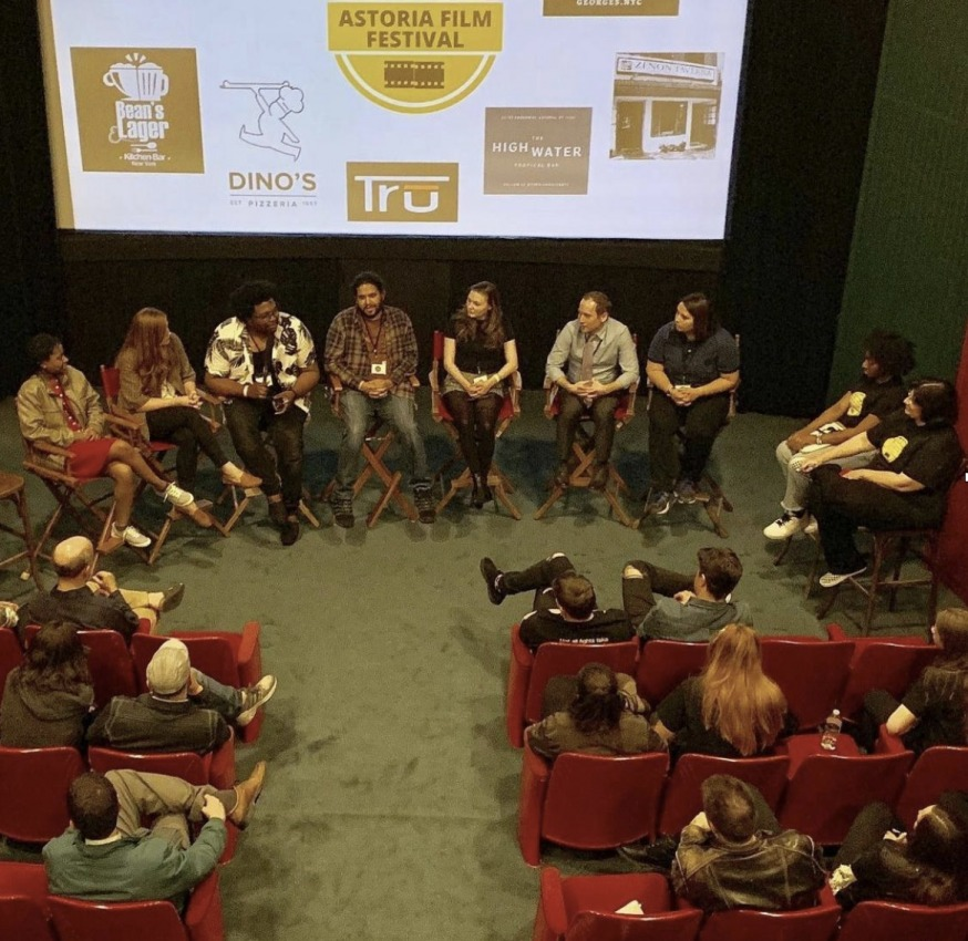 A discussion panel at a previous Astoria Film Festival (Provided by AFF)